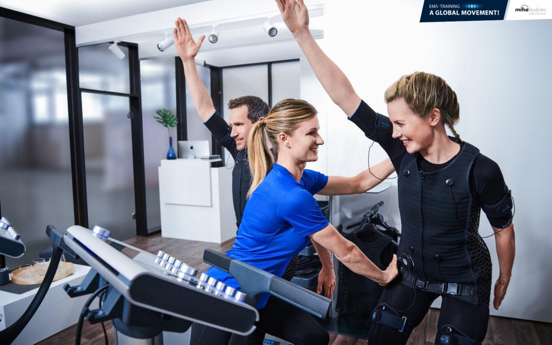 Entraînement par EMS : 6 avantages pour les femme